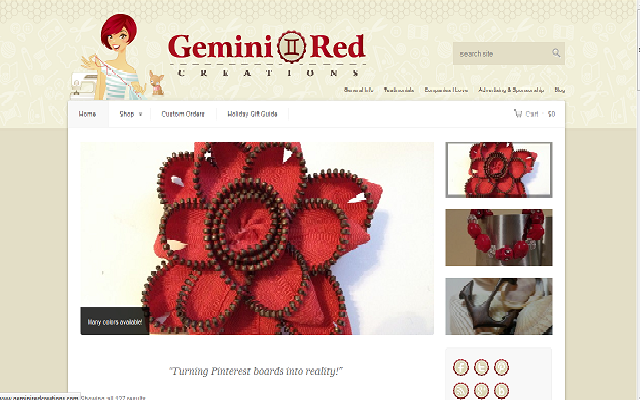 Gemini red screenshot