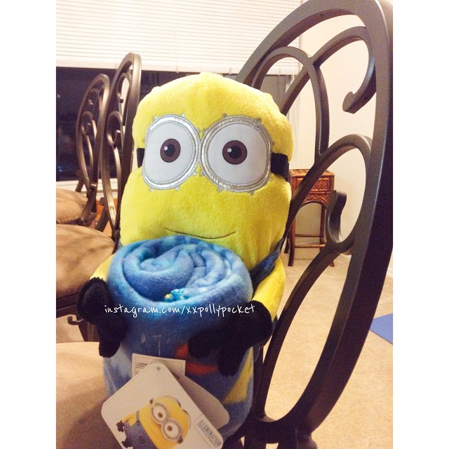#littlemomentsapp My Minion Dav got me a Minion Dav